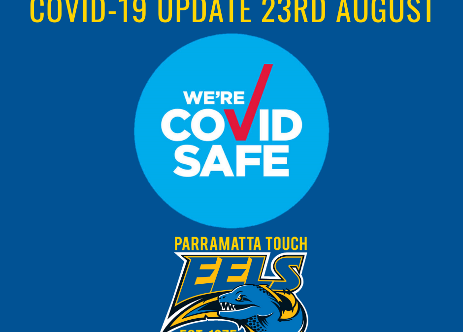 COVID-19 UPDATE 23RD AUGUST