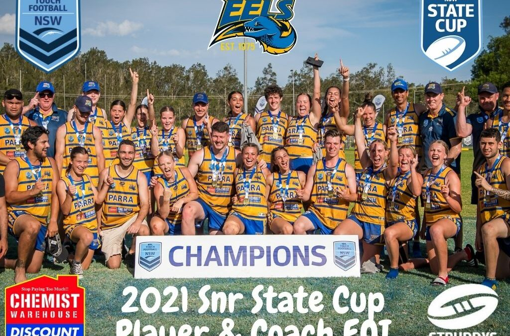 2021 Snr State Cup Player & Coach EOI