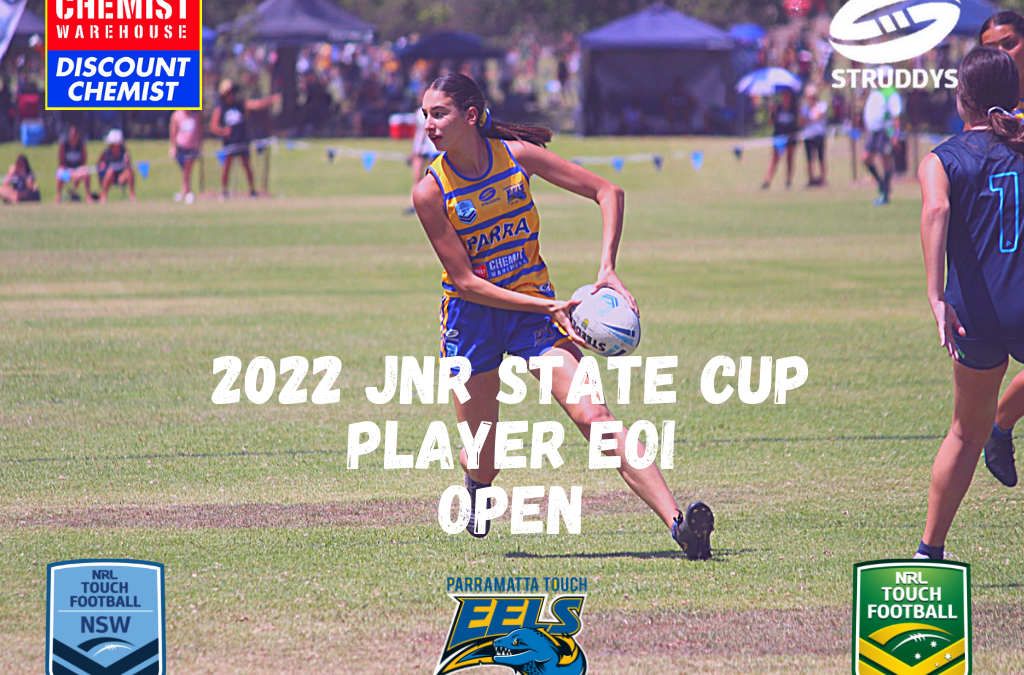 2022 Jnr State Cup Player EOI Open